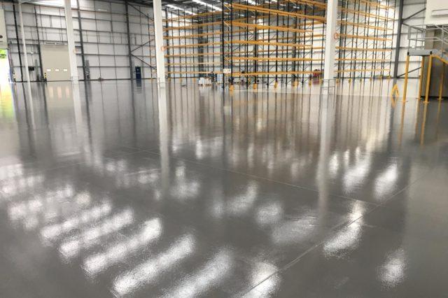 Resin floor - Birmingham - Monarch