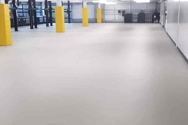 monarch resin floor workshop floor stockport