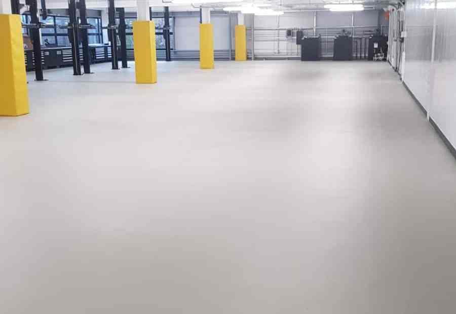 monarch resin floor workshop floor stockport